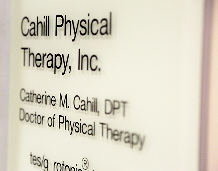 Cahill Physical Therapy Intake Forms